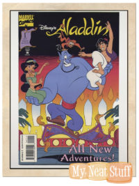 ALADDIN COMIC BOOK