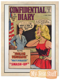 CONFIDENTIAL DIARY