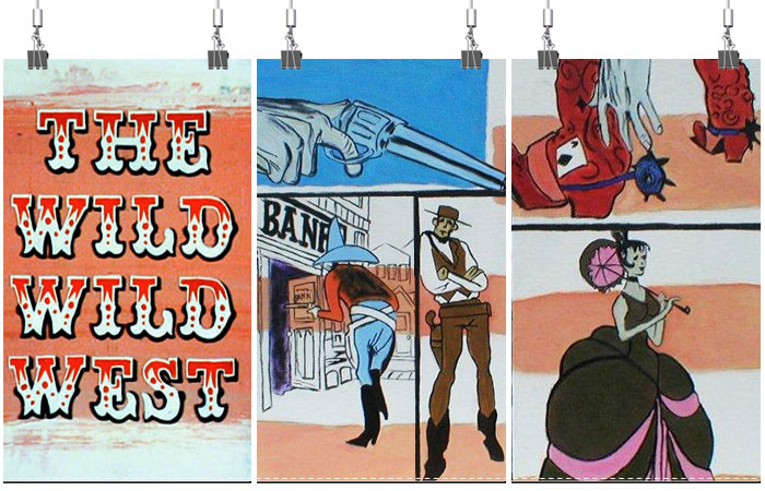 Will Smith Wild Wild West Door Poster NEW